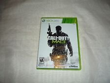 Call of Duty: Modern Warfare 3 (Microsoft Xbox 360, 2011) Complete W/ Dog Tags!