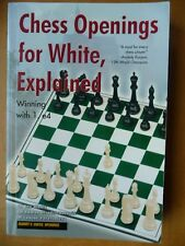 Chess Openings for White, Explained :Winning with 1. e4 by Lev Alburt, Dzindzi,