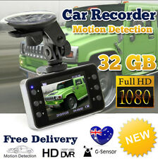 32GB NEW Full HD 1080P Dash DVR Car Video Camera Recorder G-sensor Crash Cam