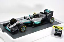 SPARK MERCEDES F1 W07 Hybrid Abu Dhabi 2016 Rosberg - World Champion 18S250 1/18