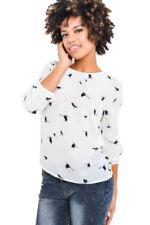 Camicia da donna di business a girocollo