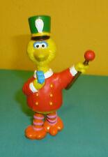 "Sesame Street PVC Figure Big Bird Marching Band Leader 4 1/4"""