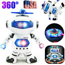 Dancing Robot Kids Toy Toddler Robot Dancing Musical Kids Birthday Xmas Gift US