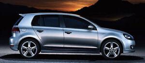 NEW GENUINE VW GOLF MK6 ACCESSORY BODYKIT SIDE SKIRTS SET