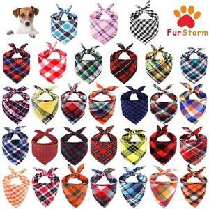 Tartan Dog Bandana over on Neckerchief Gift UK Cat, Rabbit, Pet  Neck Scarf NEW