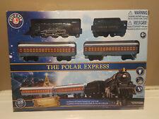 The Polar Express Lionel 28 piece Train Set 7-11925 Battery Op New Open Bad Box