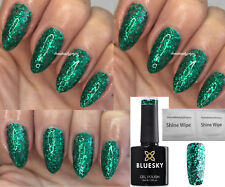 Bluesky S08n Emerald Green Glitter Christmas Tree Nail GEL Polish LED UV Soakoff