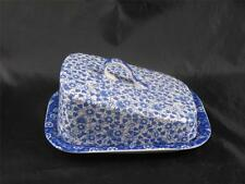Spode Blue Italian large butter cheese slope Penny Lane 'Daisy Shade' -   S1016