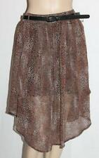 HOT OPTIONS Brand Animal Print Chiffon Skirt Size 10 BNWT #ss10
