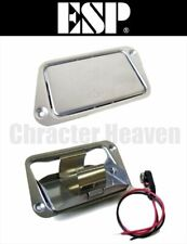 ESP BATTERY BOX 9-volt Battery Box for Electric Guitar, Bass New Stainless steel