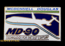 MD-90 MCDONNELL DOUGLAS WING PIN MD-80 SERIES LONG BEACH FLY DC JETS AIRLINER