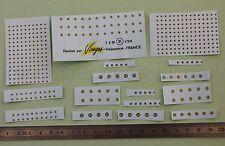 DV Véhicule miniature 1/43 decalcomanie Ferrari LOGO virages HECO voiture garage