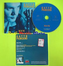 CD Singolo GATTO PANCERI Te o te 1997 POLYGRAM PROMOZIONALE  mc dvd (S11**)