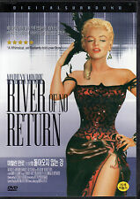 River of no Return - Marilyn Monroe Robert Mitchum (NEW) Classic Western DVD