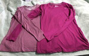 Women's Nike Dri-Fit long sleeve shirt- Set Of 2- Medium- EUC