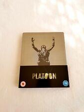 Platoon Steelbook Blu-ray UK import very rare OOP mint condition