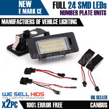 AUDI 24 LED NUMBER PLATE LIGHT TT Q5 A4 S4 B8 A5 S5 2007 UNIT ERROR FREE CANBUS