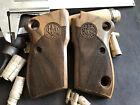 Beretta Model 1951 Turkish Walnut Wood Grips Checkered Fits The Tariq. US Seller