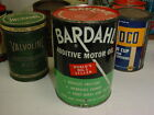 N.O.S.+FULL+%2A+HARD+TO+FIND+%2A+1950%27s+era+BARDAHL+MOTOR+OIL+Old+1+qt.+Tin+Can