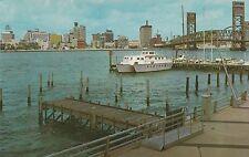 LAM(Y) Jacksonville, FL - St. John's River and Docks - Skyline in Distance