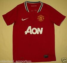 MANCHESTER UNITED / 2011-2012 Home - NIKE - JUNIOR Shirt / Jersey. 8-10y 128-140