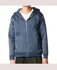 Adidas Originals FREIZEIT HOODIE Gray Mens Size XL NWT AY8522 NEW P7