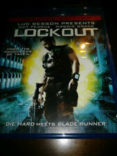 Lockout - Guy Pearce & Maggie Grace (Blu-ray, Unrated Edition)VERY GOOD COND