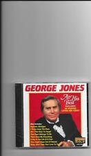 "GEORGE JONES, CD ""AT HIS BEST"" NEW SEALED"