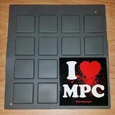 Akai MPC 2000 XL fits 60 2500 3000 4000 5000 Original Rubber Pads FREE SHIPPING