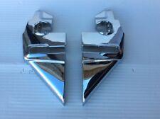 New Pair Of Side Chrome Pillars Fits Mercedes W113 230sl 250sl 280sl