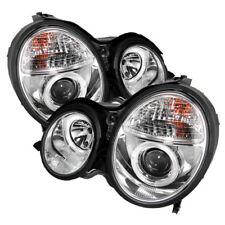 Mercedes Benz 00-02 W210 E320 E350 E430 E500 E55 Clear Halo Projector Headlights
