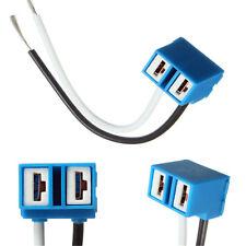 2X H7 Headlight Bulb Socket Outlet Cceramic Lamp Base Car Connector Plug Socket