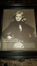 Samantha Sang Emotion Rare Original Promo Poster Ad Framed!