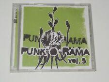 Punk-O-Rama 9 - Various Artists 2004 CD/DVD XCLNT HorrorPops Rancid