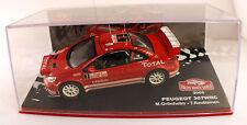 Altaya Kiosque Ixo Rallye Monte Carlo 2005 PEUGEOT 307WRC 1/43