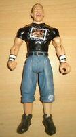 """WWF WWE WRESTLER WRESTLING ACTION FIGURE 2003 JAKKS John Cena 7"""" Tall"""