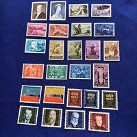 Liechtenstein Stamps, 26 stamps, MNH, Price: $11.00 US   (2308)
