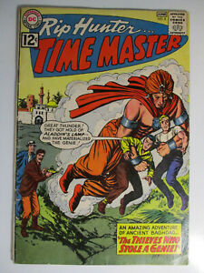 Rip Hunter Time Master #8, Aladdin's Lamp, Very Good/Fine, 5.0 (C), White Pages
