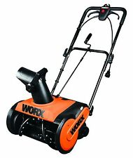 Worx 13 Amp 18-Inch Adjustable Height Electric Snow Blower/Thrower | WG650