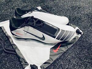 Nike Phantom Venom Elite FG White/Black/Chili Red Soccer Cleats AO7540-106 Sz 10