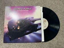 The Very Best Of Deepest Purple Record lp original vinyl album