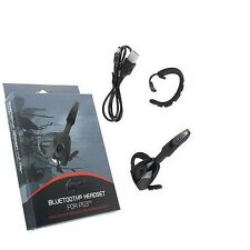PS3  Accessories Bluetooth Headset for Playstation3 Black Rechargeable Wireless