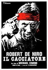 THE DEER HUNTER MOVIE POSTER ~ ITALIAN 27x38 Robert De Niro Michael Cimino