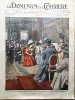 La Domenica del Corriere 3 Maggio 1908 Carmelitani Scalzi Primo Congresso Donne