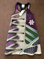 adidas mary katrantzou Dress Size 10 New With Tags Scuba Limited Edition Rrp£145
