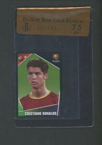 2004 Panini UEFA Euro Soccer #23 Cristiano Ronaldo BGS 7.5 RCR