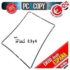 Marco lateral plastico negro iPad 4 A1460 black Repuesto fijación pantalla NEW