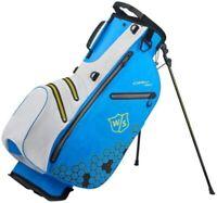 WILSON Herren W/S Dry Tech Ii Carry Bag Golftaschen Stand Bag Mens Golf Tragebag