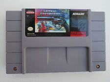 Lethal Enforcers (Super Nintendo SNES, 1993) Game Only--Tested (NTSC) Konami