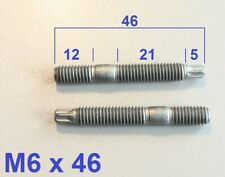 1 Stück Stiftschraube Stehbolzen Bolzen  M6x46 (M6x45) Torx-Kopf